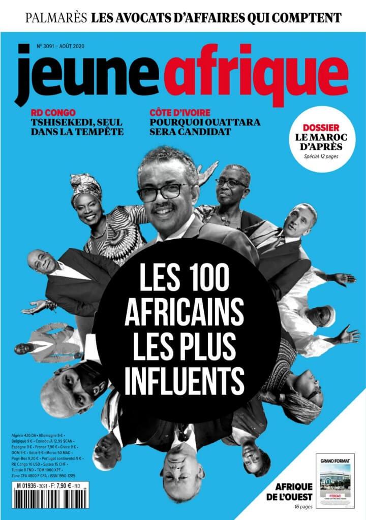 JEUNE AFRIQUE -28/07/2020