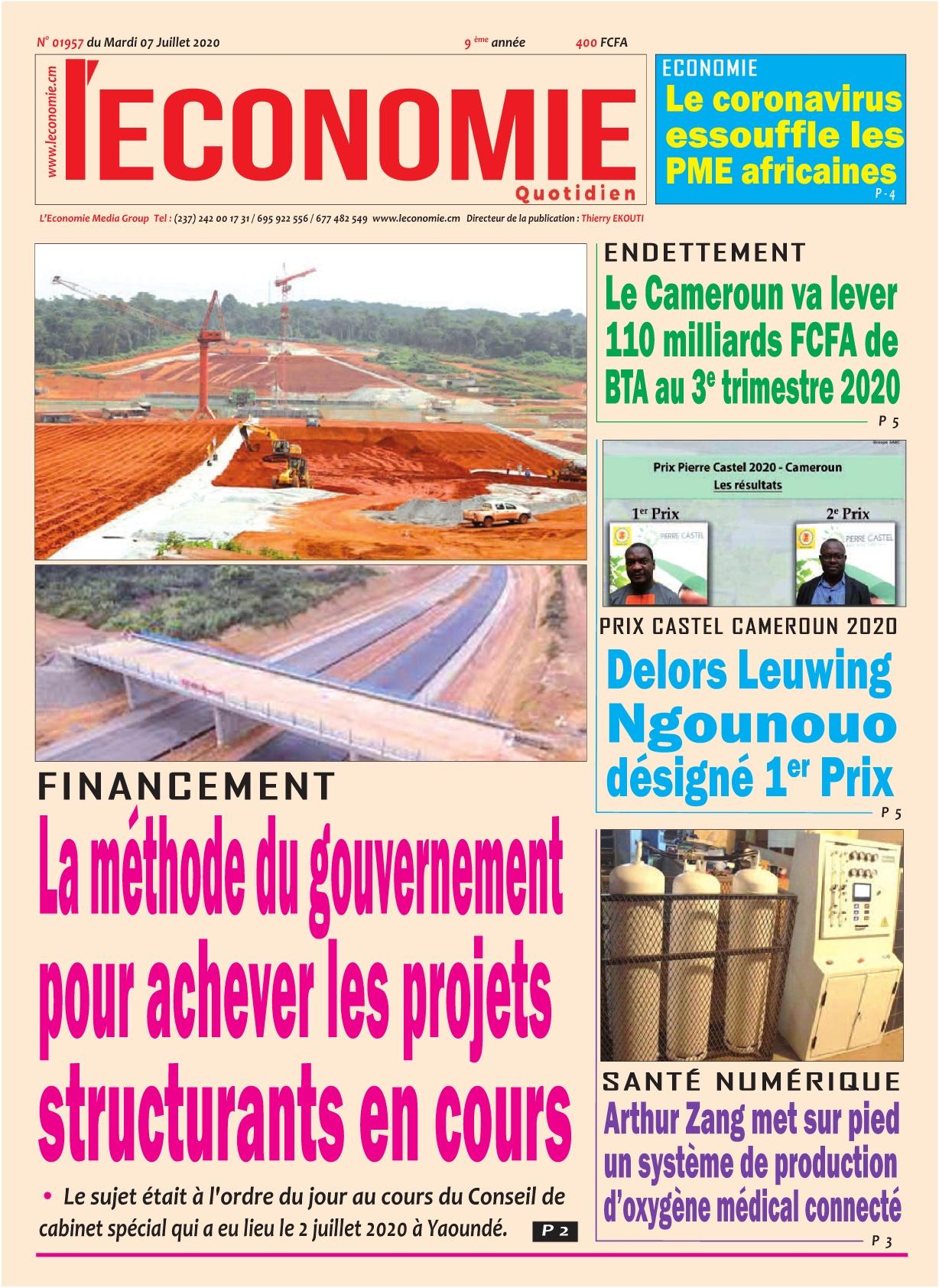 Le Quotidien de l'Economie - 07/07/2020