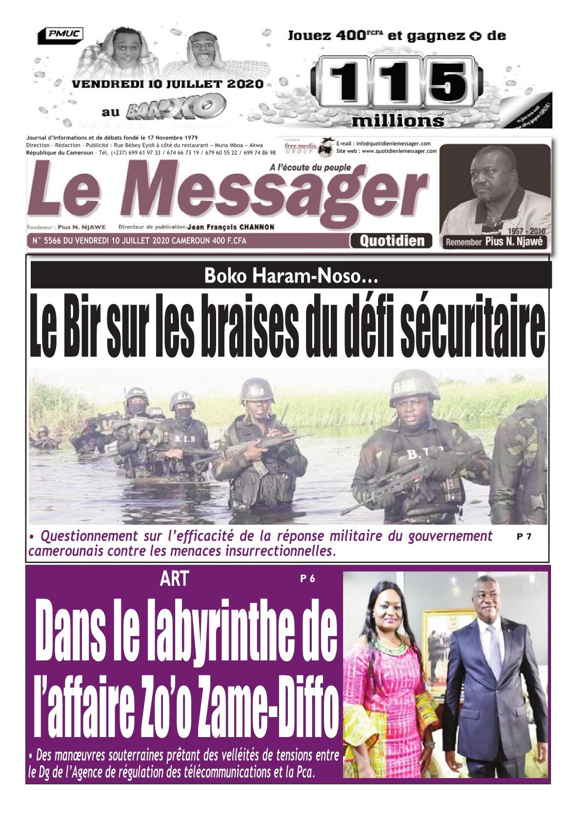 Le Messager - 10/07/2020