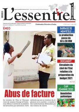 L'essentiel du Cameroun - 14/07/2020
