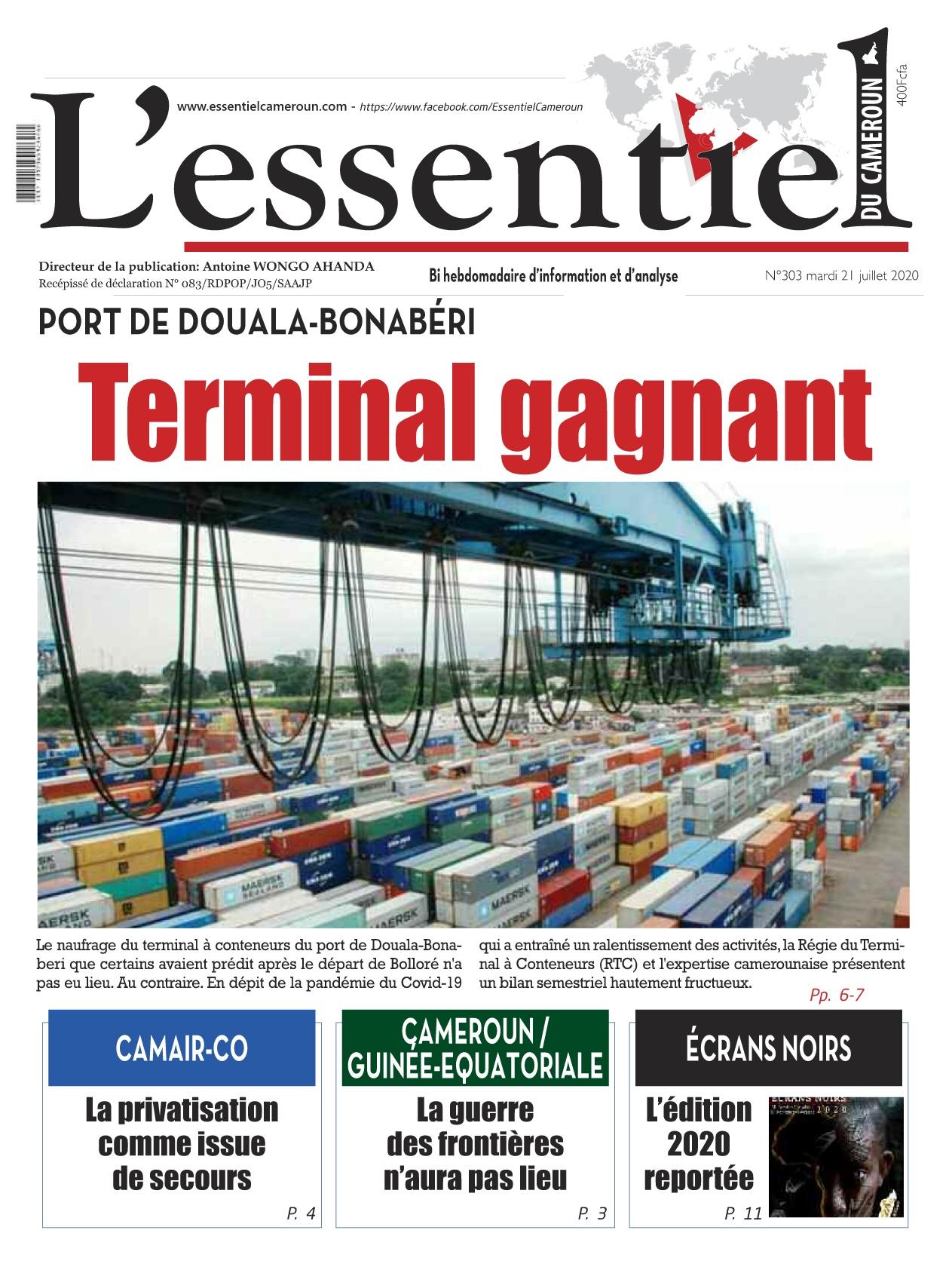 L'essentiel du Cameroun - 21/07/2020