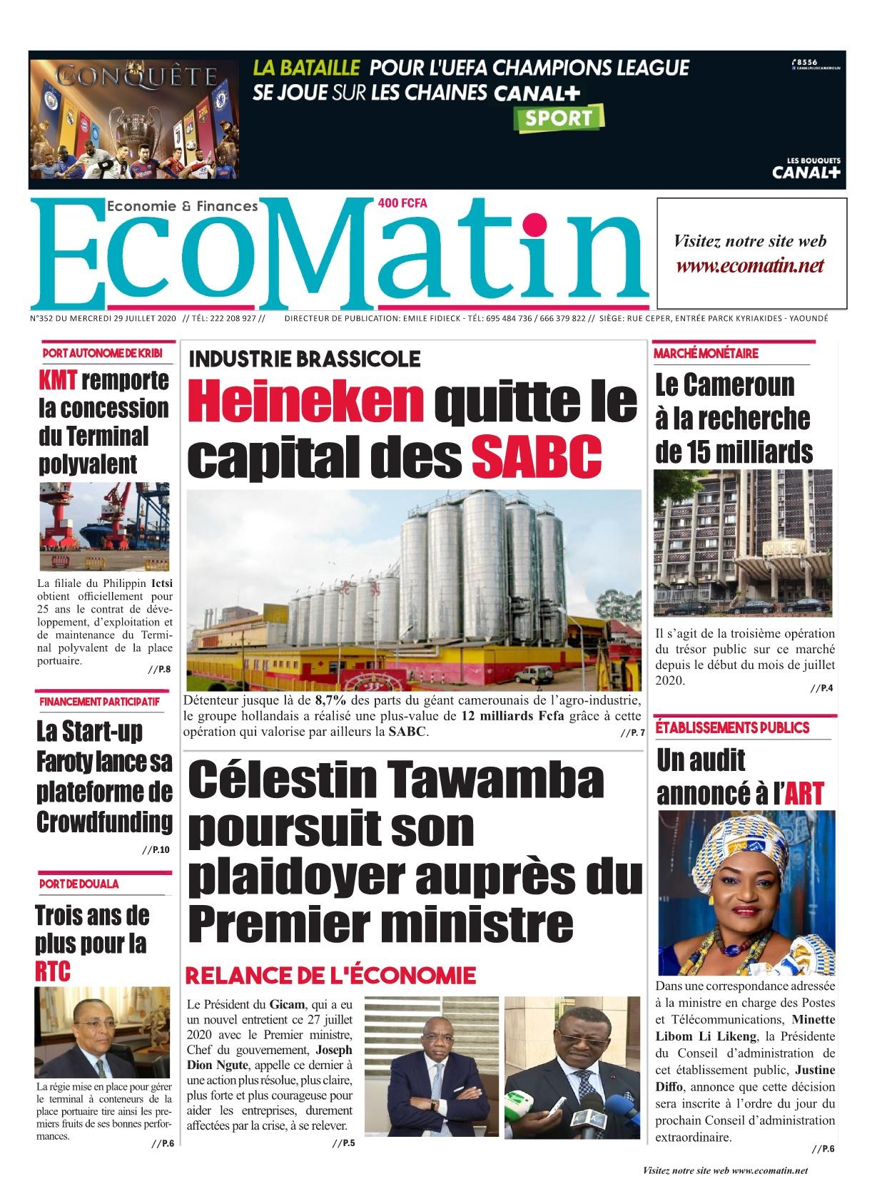 Ecomatin - 29/07/2020