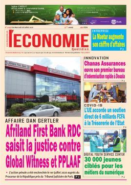 Le Quotidien de l'Economie - 08/07/2020