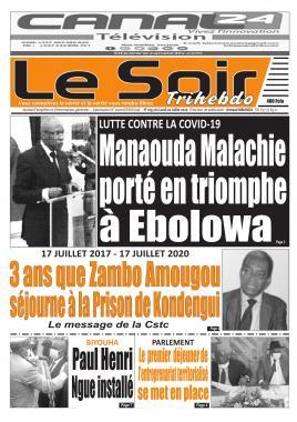 Le Soir - 20/07/2020