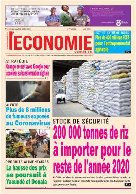 Le Quotidien de l'Economie - 30/07/2020