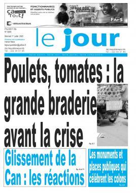 Le Jour - 01/07/2020