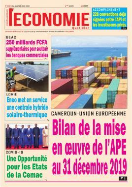 Le Quotidien de l'Economie - 06/08/2020