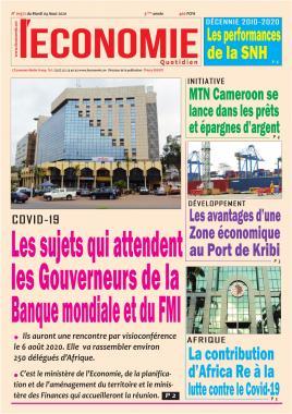 Le Quotidien de l'Economie - 04/08/2020