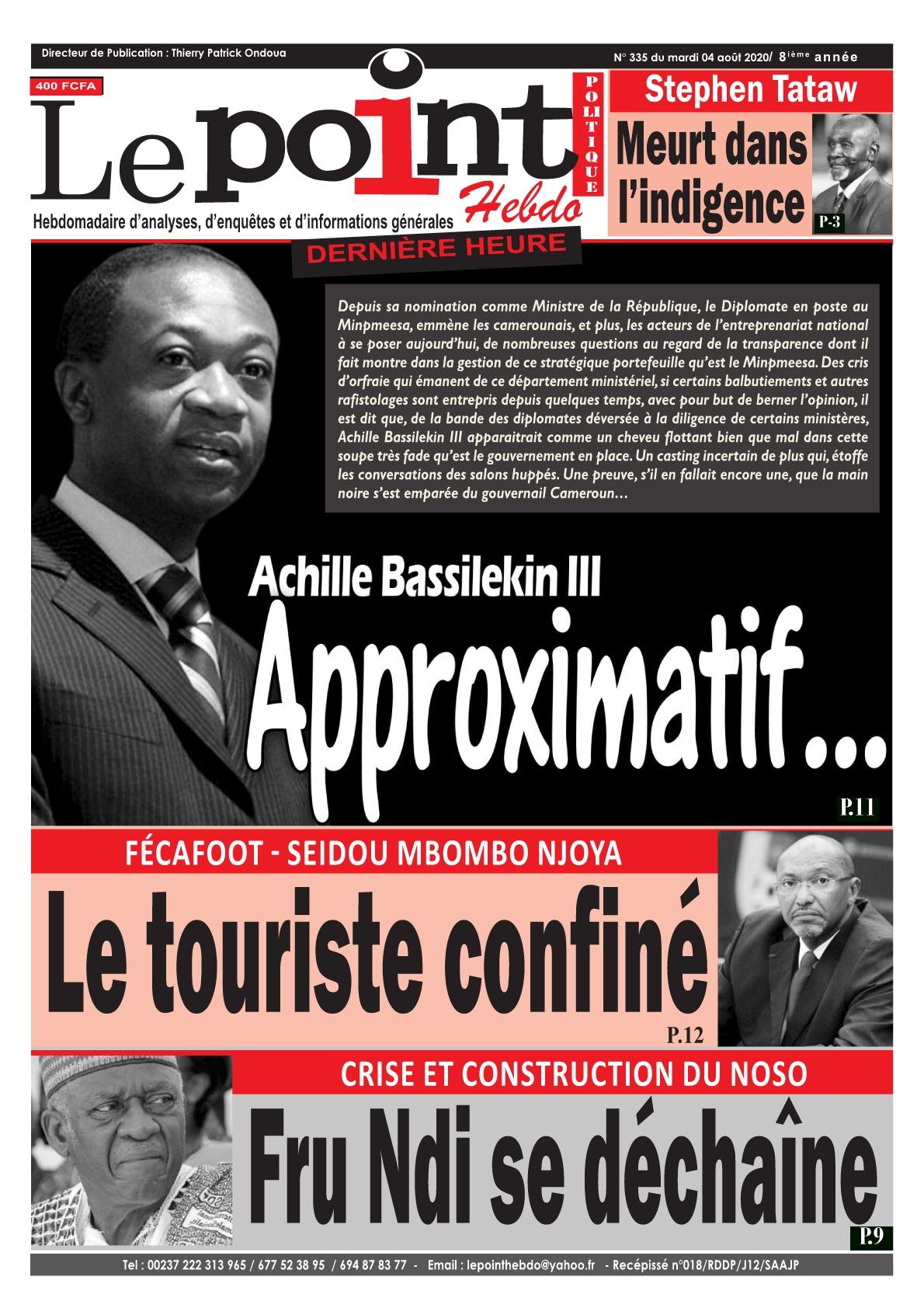 Le Point - 04/08/2020