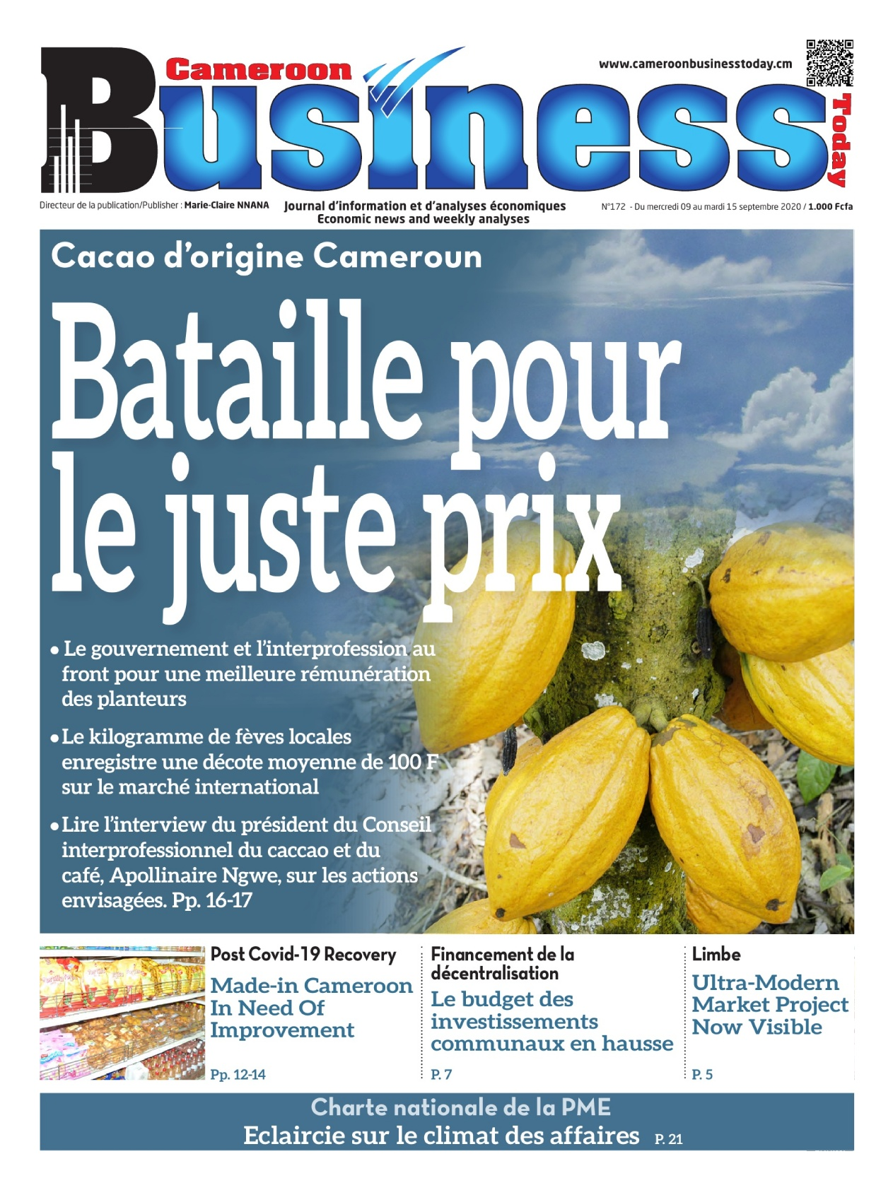 Cameroon Business - 09/09/2020