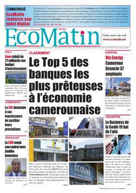 Ecomatin - 09/09/2020