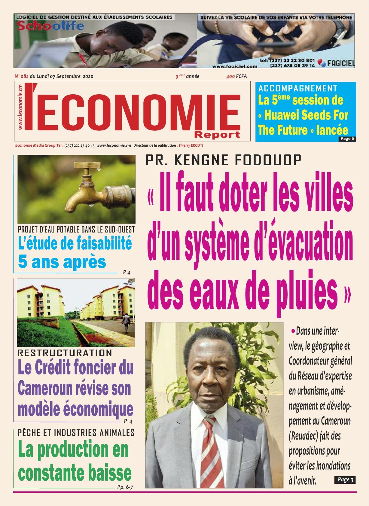 Le Quotidien de l'Economie - 07/09/2020
