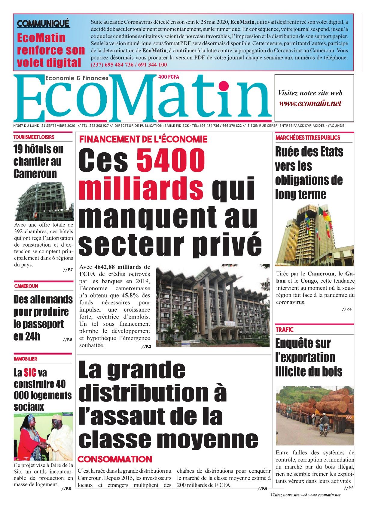Ecomatin - 21/09/2020