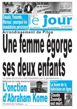 Le Jour - 17/09/2020