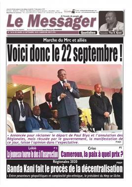 Le Messager - 22/09/2020