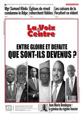 LA VOIX DU CENTRE - 21/09/2020