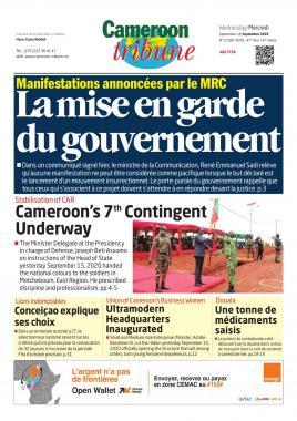 Cameroon Tribune - 16/09/2020