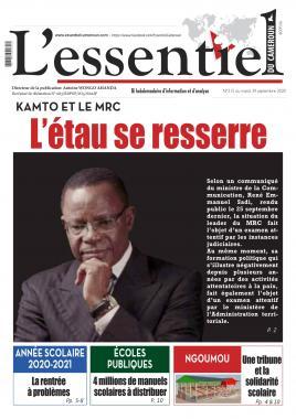 L'Essentiel du Cameroun - 29/09/2020