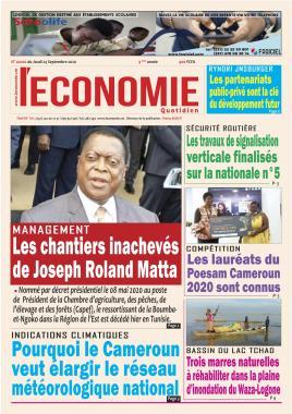 Le Quotidien de l'Economie - 24/09/2020