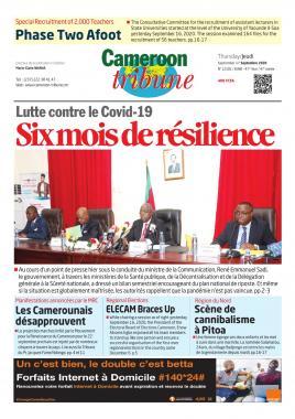 Cameroon Tribune - 17/09/2020