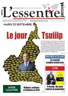 L'essentiel du Cameroun - 23/09/2020