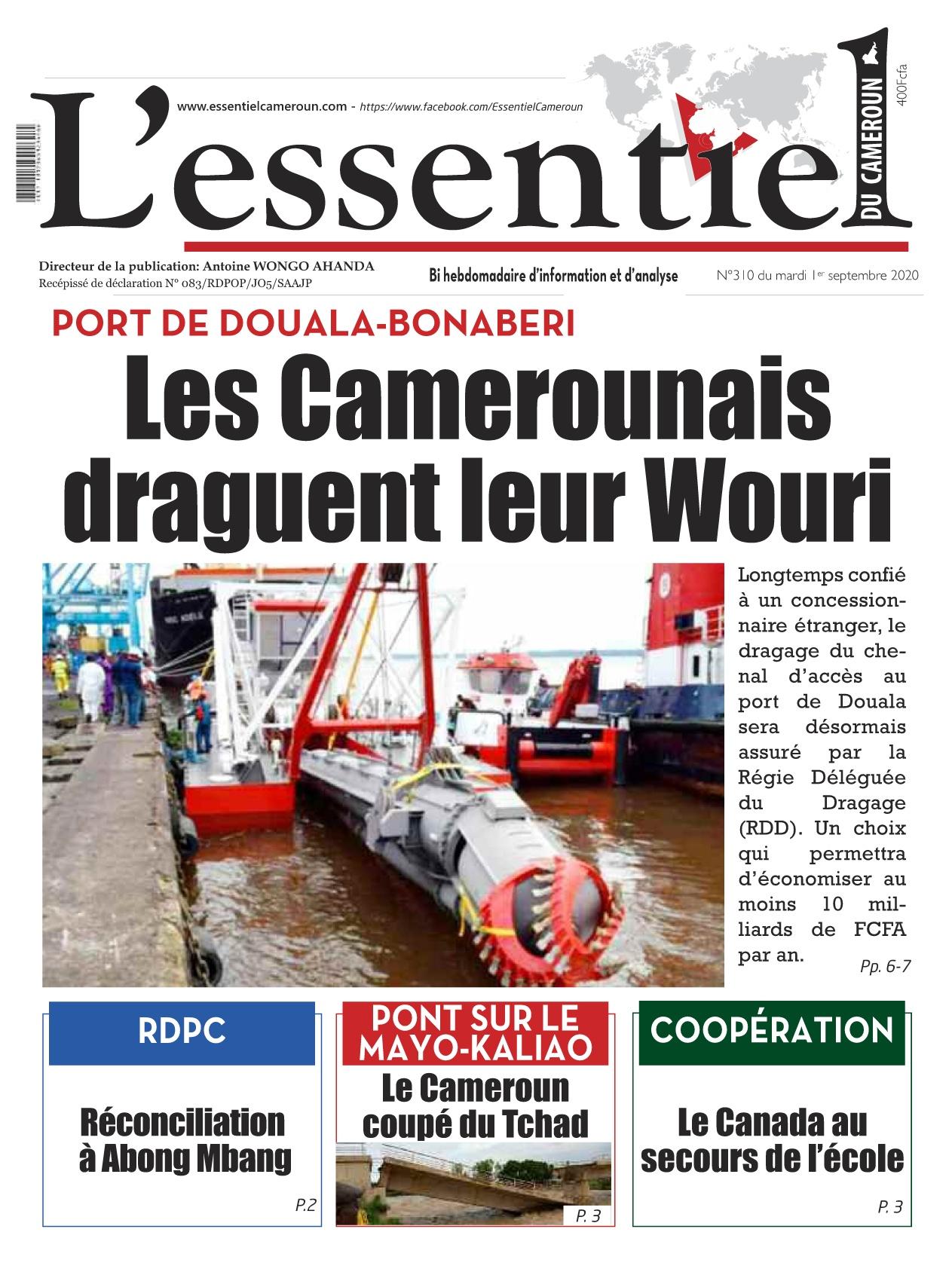 L'essentiel du Cameroun - 01/09/2020