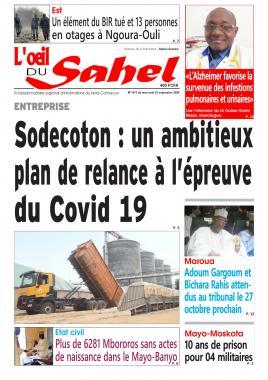 L'oeil du Sahel - 23/09/2020