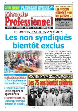 Monde Professionnel - 29/09/2020