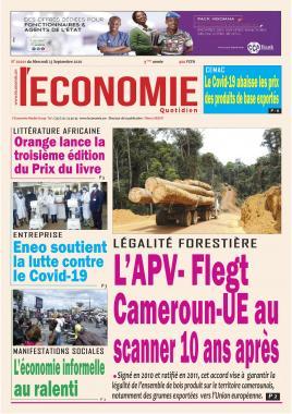 Le Quotidien de l'Economie - 23/09/2020