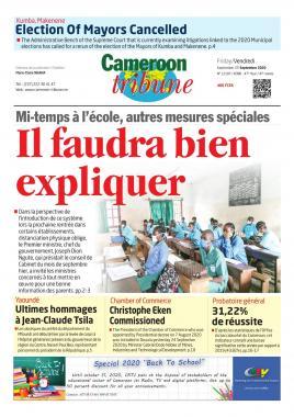 Cameroon Tribune - 24/09/2020