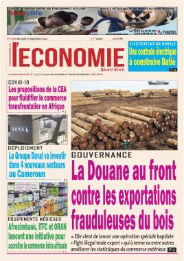 Le Quotidien de l'Economie - 17/09/2020