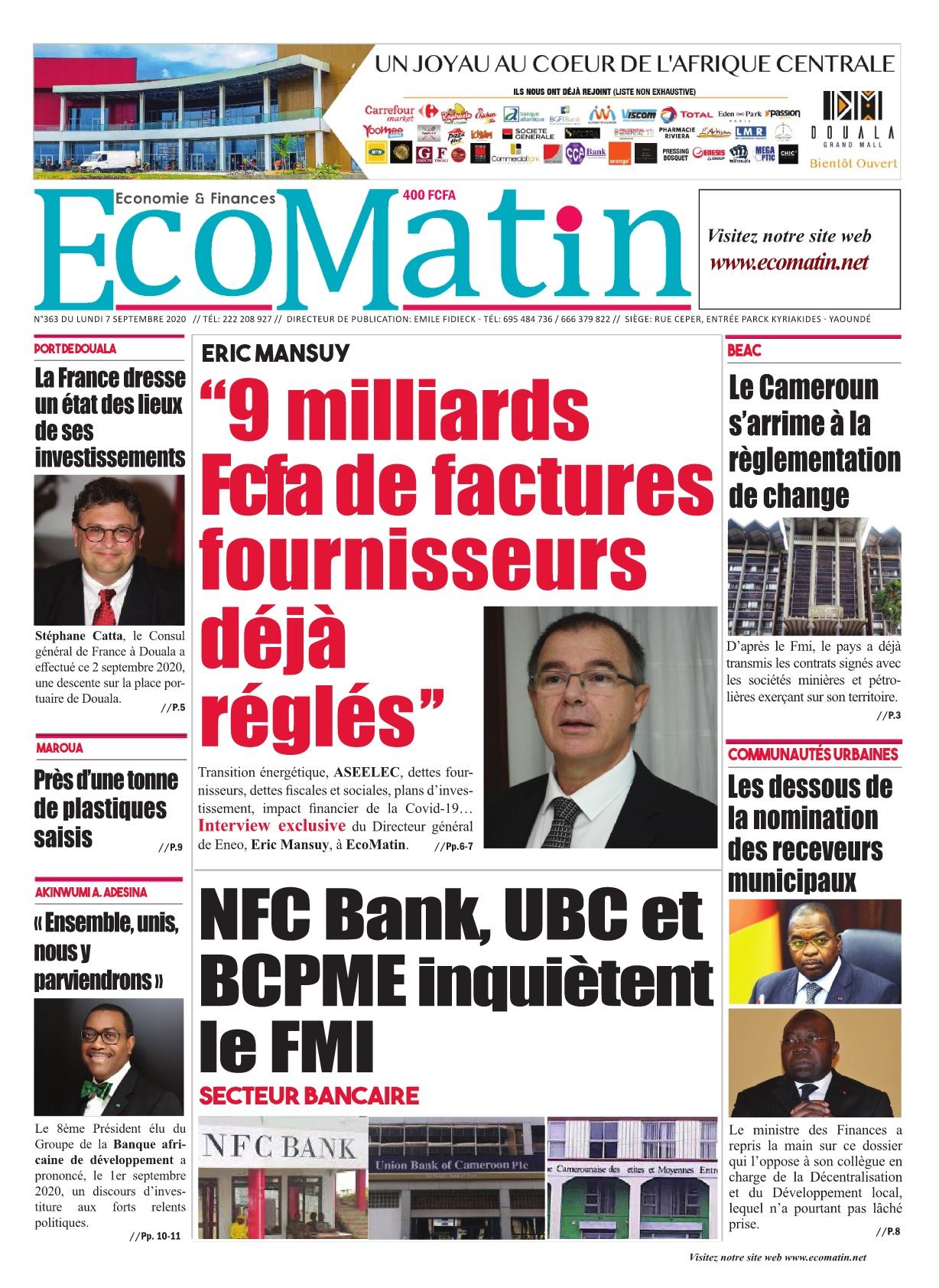 Ecomatin - 07/09/2020