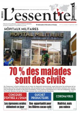 L'essentiel du Cameroun - 18/09/2020