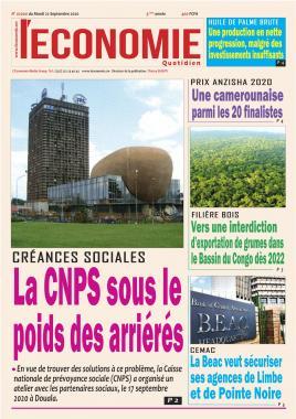 Le Quotidien de l'Economie - 22/09/2020