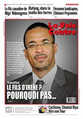 LA VOIX DU CENTRE - 07/09/2020