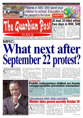 The Guardian Post - 24/09/2020