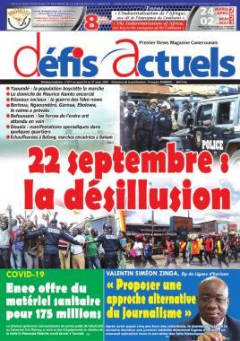 Défis Actuels - 24/09/2020