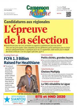 Cameroon Tribune - 15/09/2020