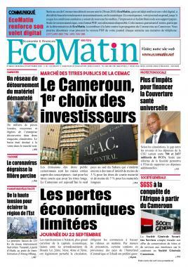 Ecomatin - 23/09/2020