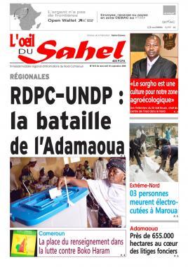 L'oeil du Sahel - 16/09/2020