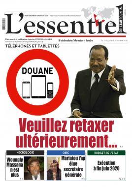 L'essentiel du Cameroun - 20/10/2020