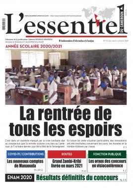 L'Essentiel du Cameroun - 06/10/2020