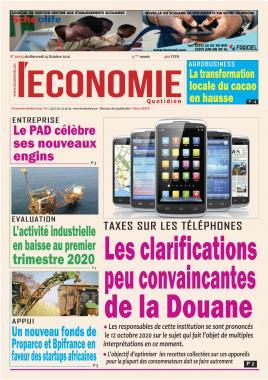 Le Quotidien de l'Economie - 14/10/2020