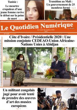 QUOTIDIEN NUMERIQUE DAFRIQUE - 06/10/2020