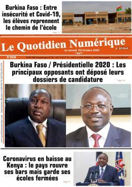 QUOTIDIEN NUMERIQUE DAFRIQUE - 03/10/2020