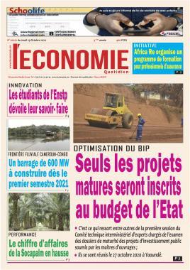 Le Quotidien de l'Economie - 29/10/2020