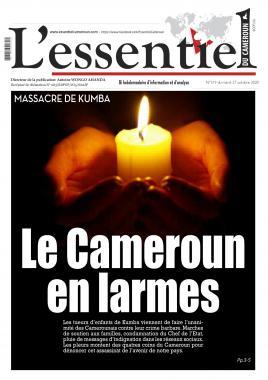 L'essentiel du Cameroun - 27/10/2020