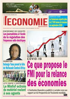Le Quotidien de l'Economie - 15/10/2020