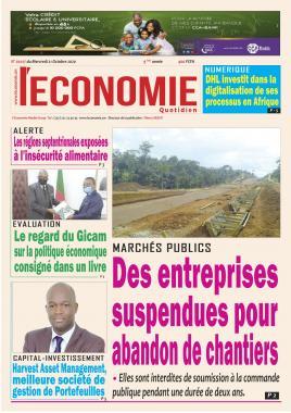 Le Quotidien de l'Economie - 21/10/2020