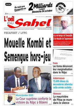 L'oeil du Sahel - 05/10/2020